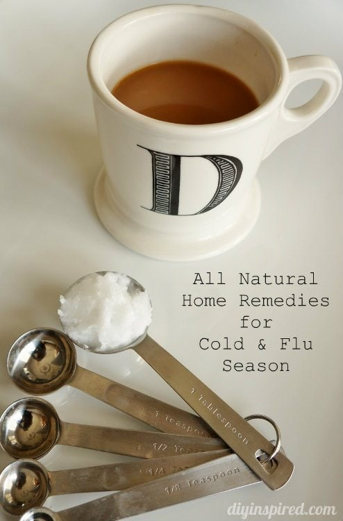 All Natural Home Remedies for Cold and Flu Season