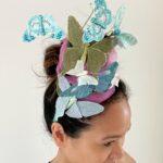 DIY Butterfly Headband - Crazy Hat Day