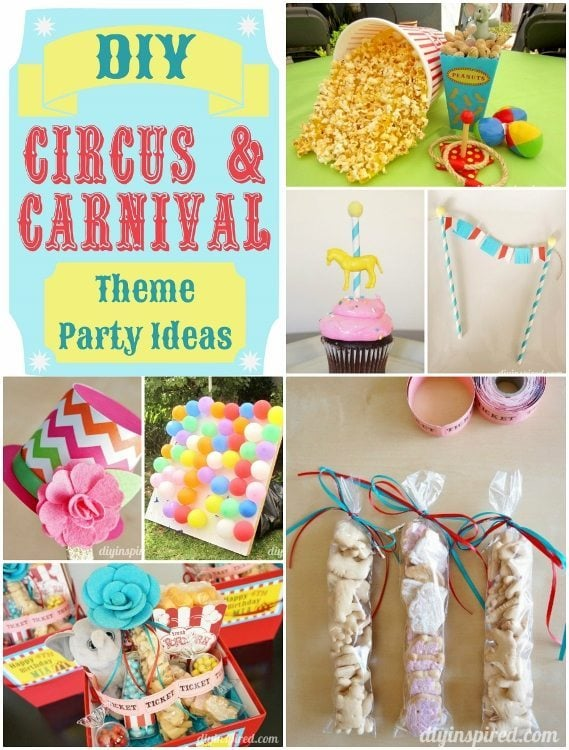 DIY Circus and Carnival Party Ideas