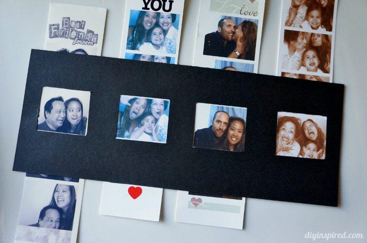 Easy Photo Strip Frame Craft