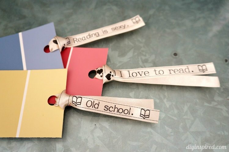 Paint Sample Bookmarks (3)