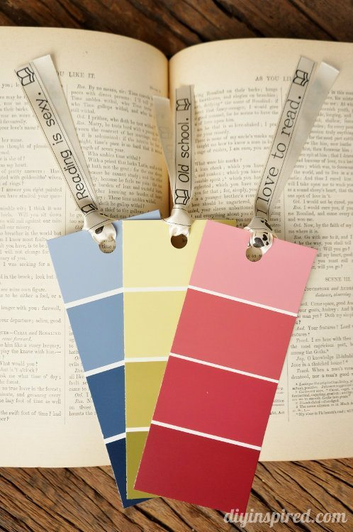 Paint Sample Bookmarks (5)