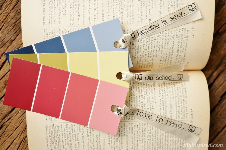 Paint Color Sample Bookmarks