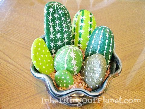 Painted Rocks Craft for Kids (1)