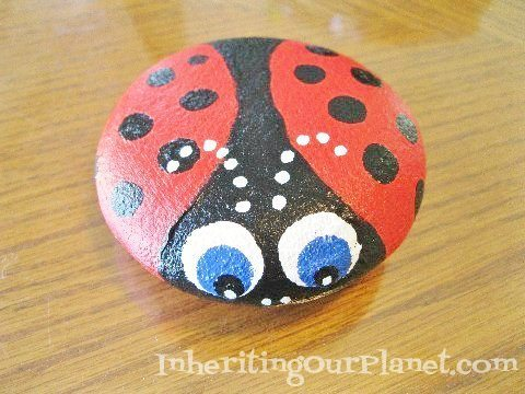 Painted Rocks Craft for Kids (3)