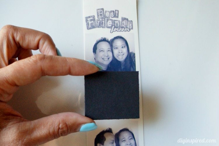 Photo Strip Frame How To