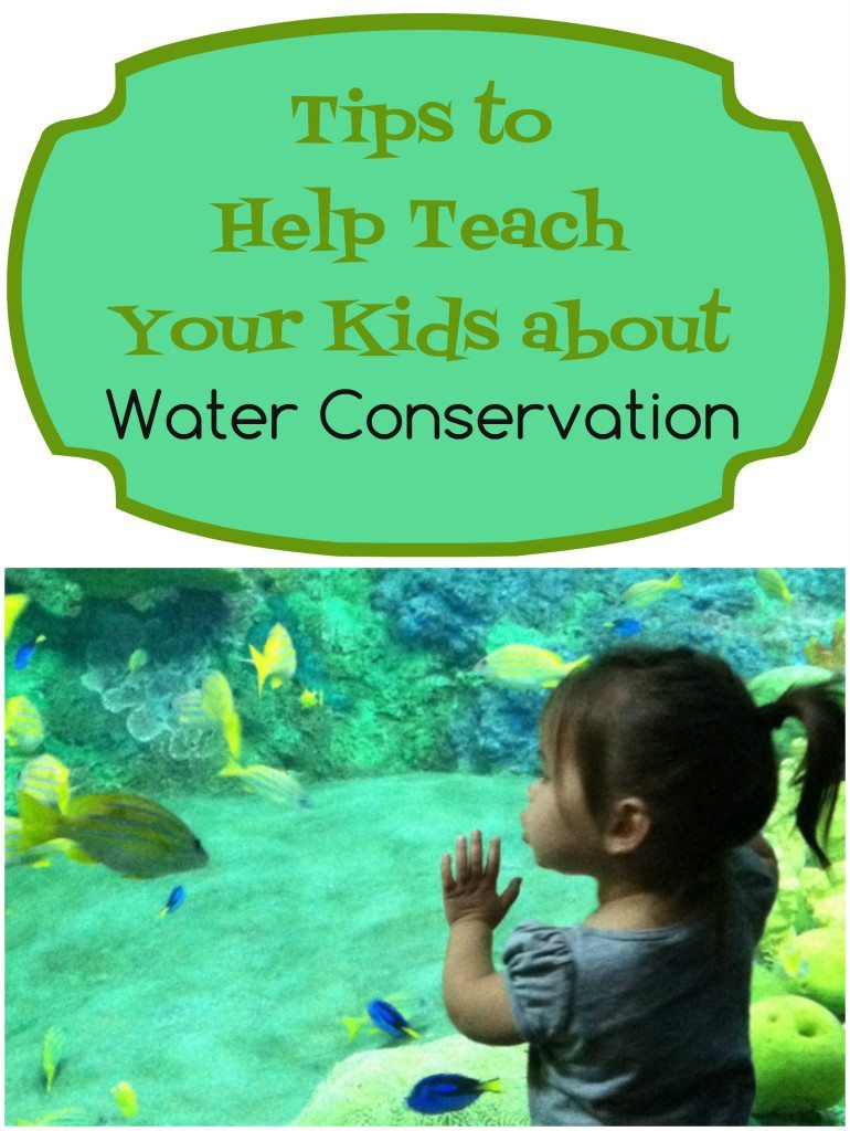 Tips to Help Teach Kids about Water Conservation