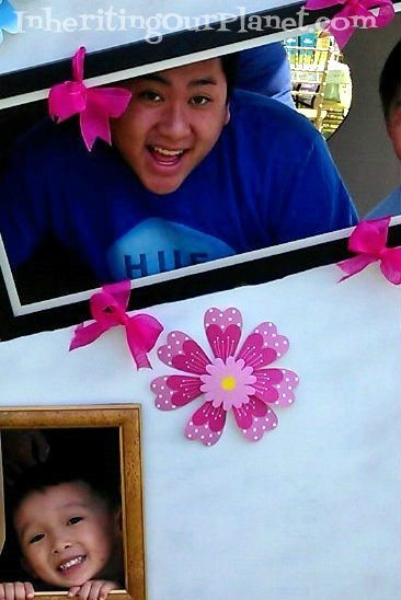 Recycled Box Photo Booth