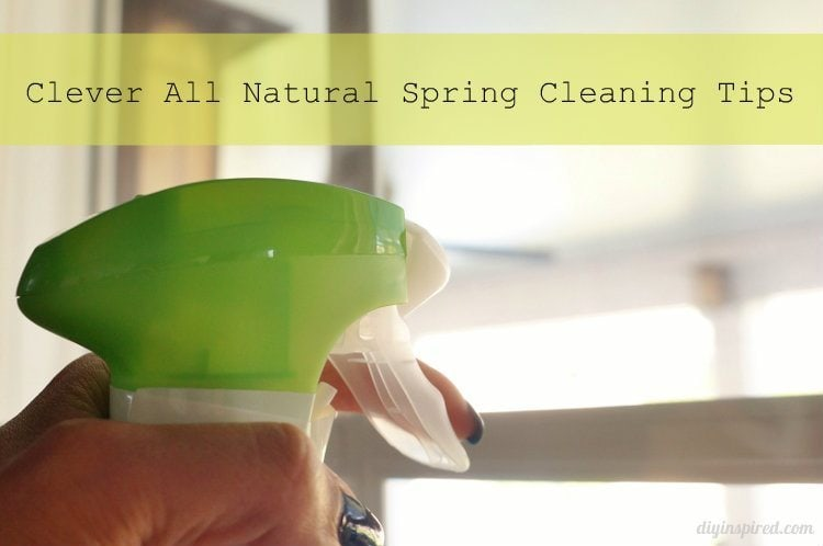 Clever All Natural Spring Cleaning Tips