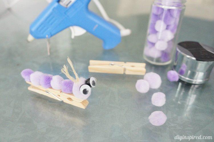 Clothespin Caterpillars (3)