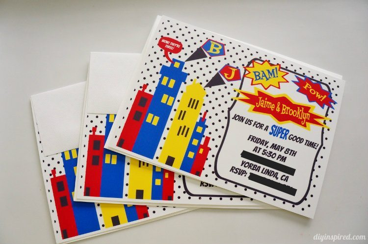 DIY Superhero Invitations (2)