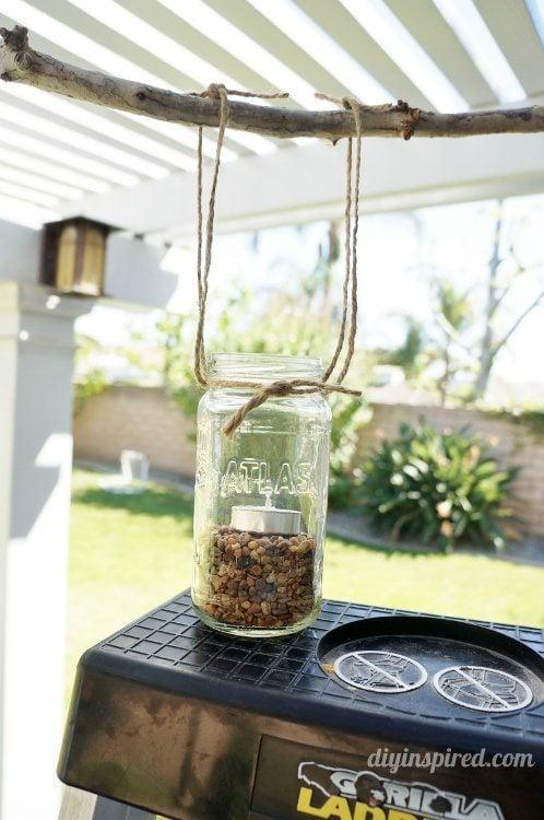 DIY Tips for a Mason Jar Chandelier