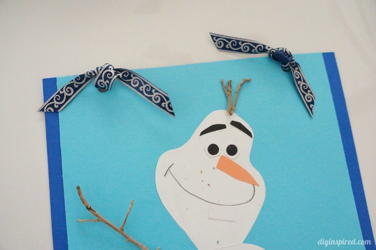 Frozen Themed Gift Wrapping with Olaf