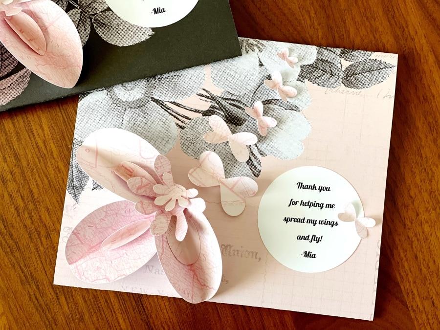 Porta-envelopes para cartões de presente faça você mesmo