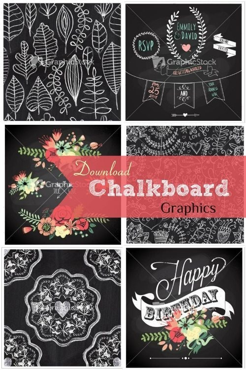GraphicStock Chalkboard Graphics