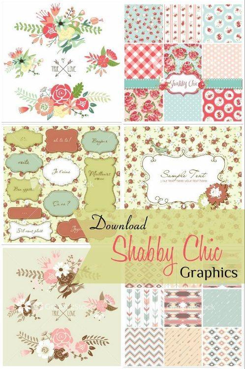 GraphicStock Shabby Chic Graphics