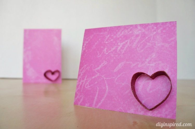 Heart Card Craft for Kids