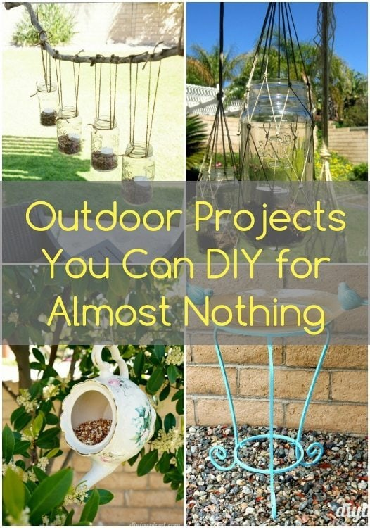 Outdoor Projects You Can DIY for Almost Nothing