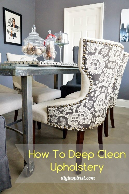 Spring Cleaning Your Upholstery Tips