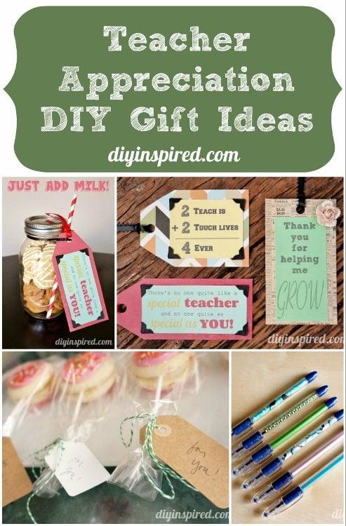 Ideias para presentes faça você mesmo para agradecimento ao professor
