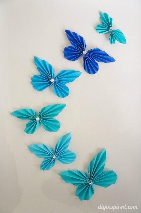 Accordion Paper Butterflies