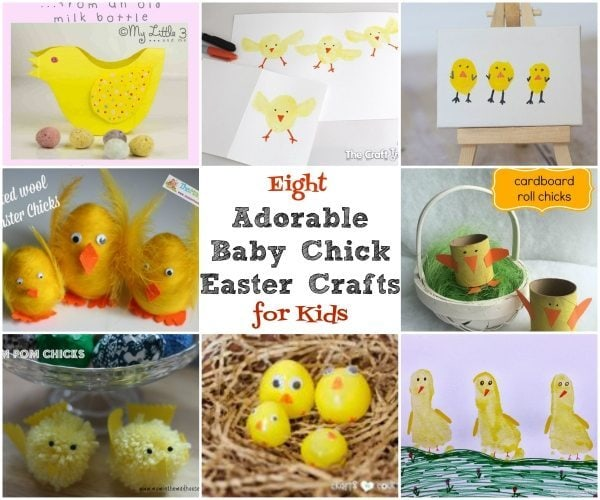 8 Adorable Baby Chick Easter Crafts for Kids