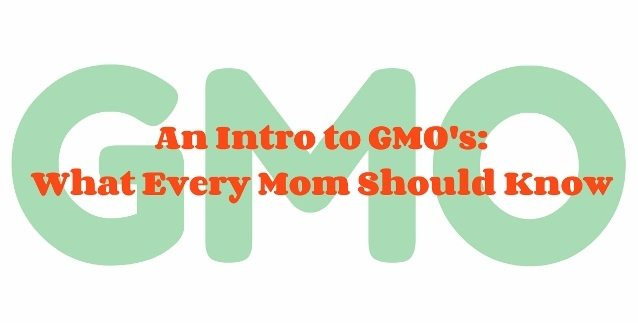 An Intro to GMO's: What Mom's Should Know