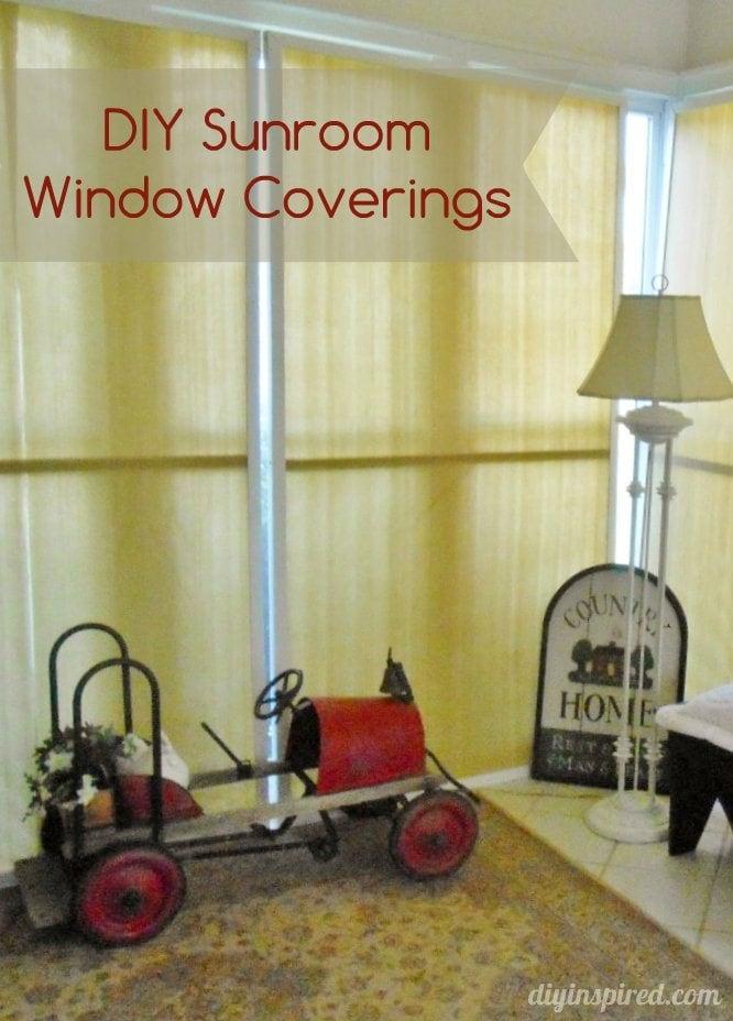 DIY Sunroom Window Coverings (10)