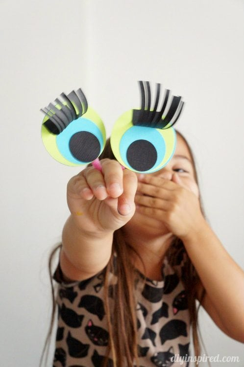 Paper Finger Puppets Craft