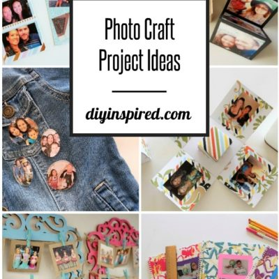 Photo Craft Project Ideas - DIY Inspired