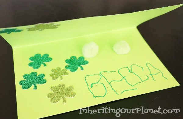 Preschool-Card-Writing-Kids-Activity