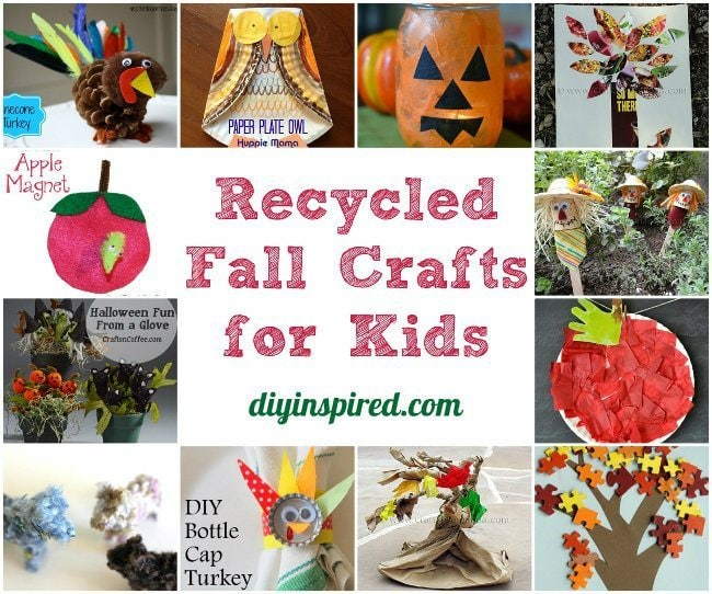 Recycled Fall Crafts for Kids