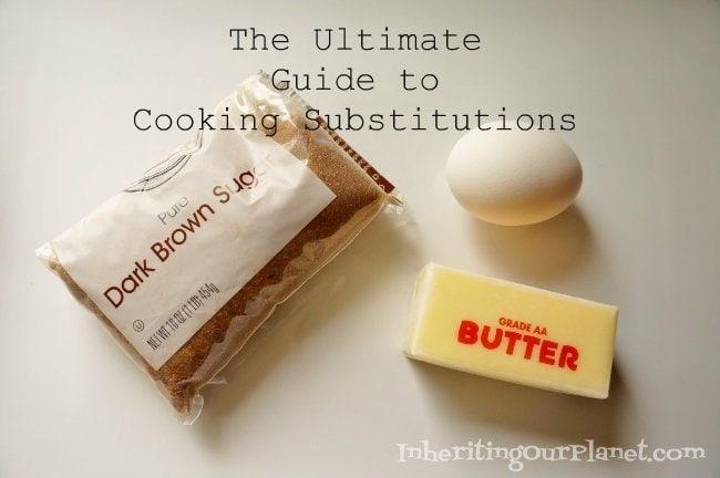 The Ultimate Guide to Cooking Substitutions