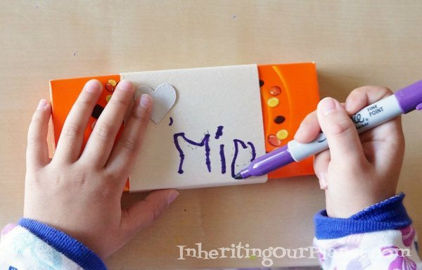 Learning Handwriting Preschool Activity