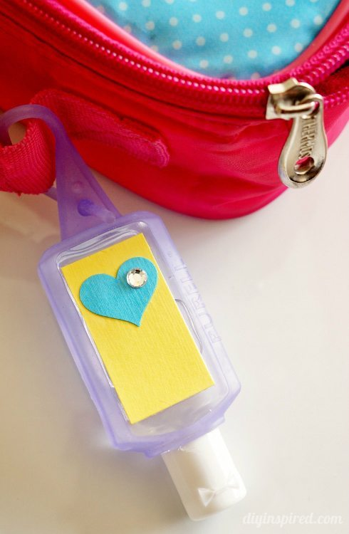 Back to School Craft Hand Sanitizers