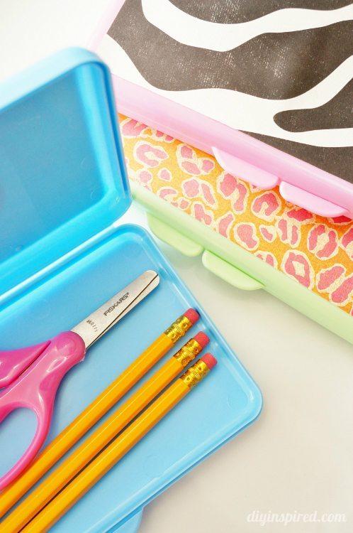 DIY Back to School Pencil Box