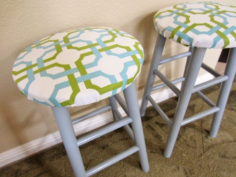 Trash to Treasure: Upcycled Bar Stools