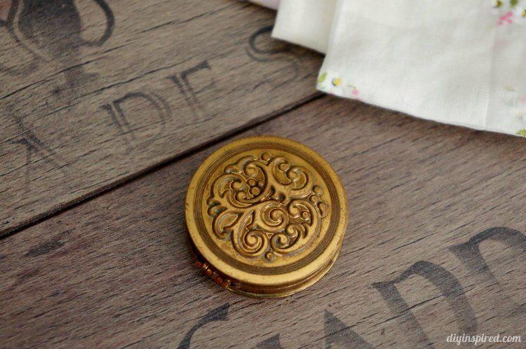Flea Market Finds -Vintage Solid Perfume Compact