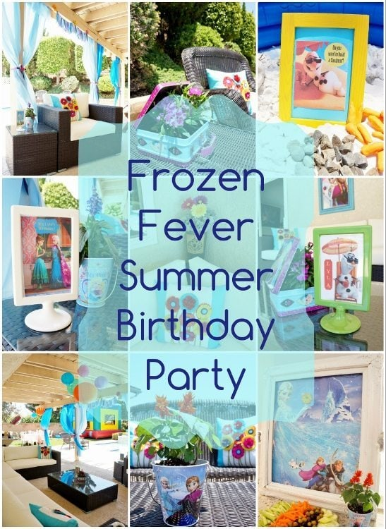 Frozen Fever Birthday Party for the Summer