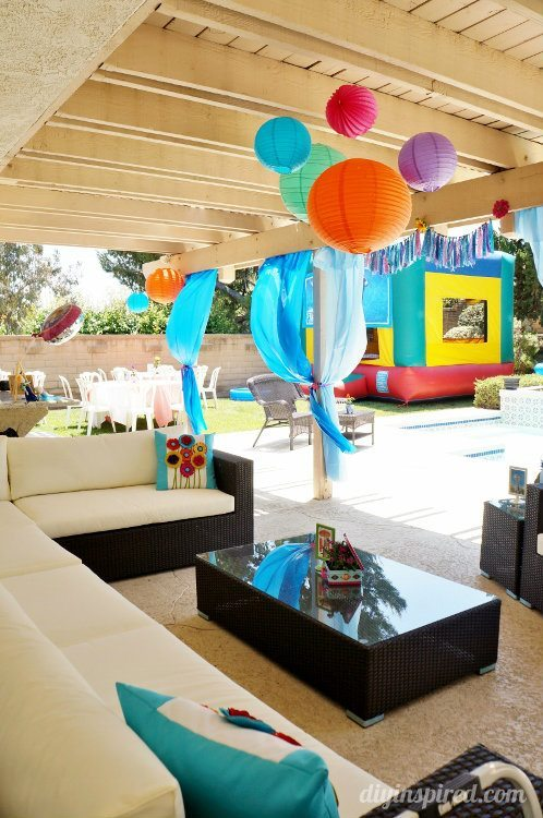 Frozen Fever Party Ideas for a Summer Pool Party