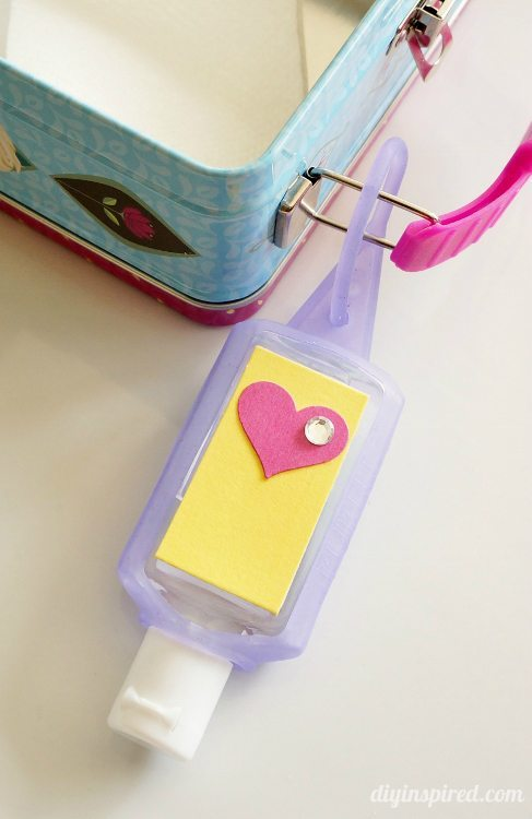 Hand Sanitizer Craft for Backpacks