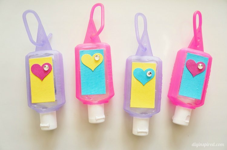 Hand Sanitizers Back to School Craft Idea