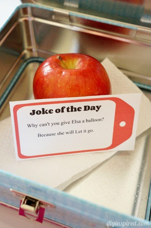 Joke of the Day Lunch Box Notes