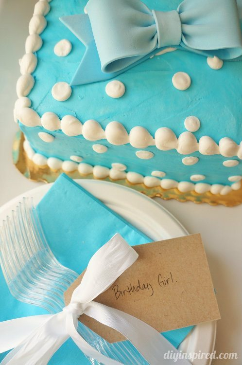 Last Minute Birthday Cake Surprise