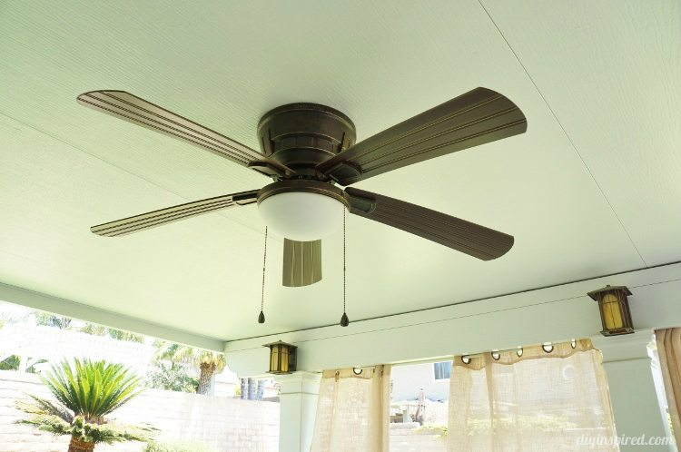 Outdoor Fan and Lighting