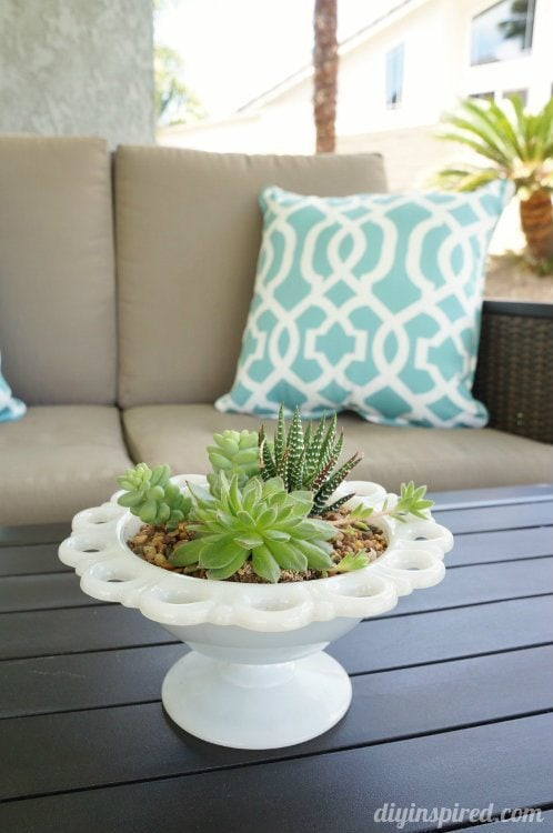 Patio Table Centerpiece