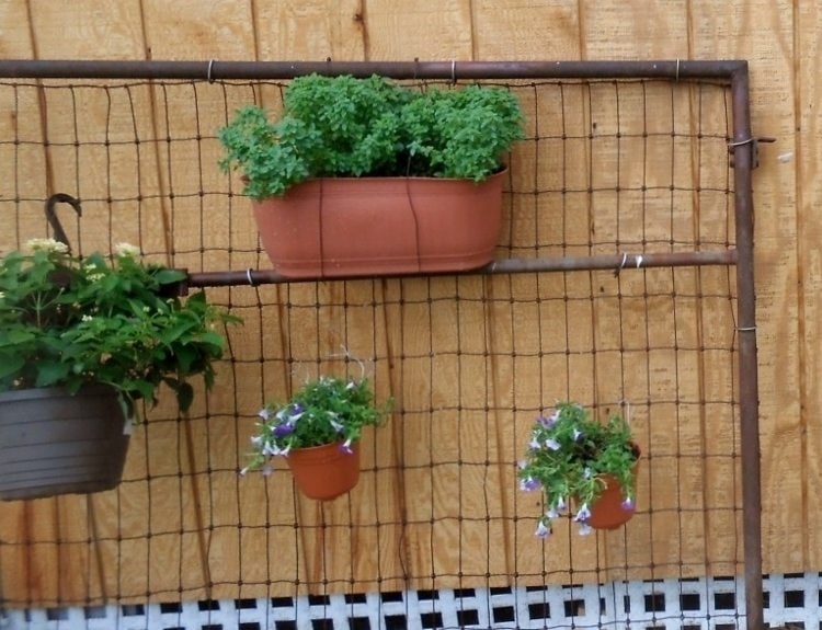 DIY Upcycled Garden Gates