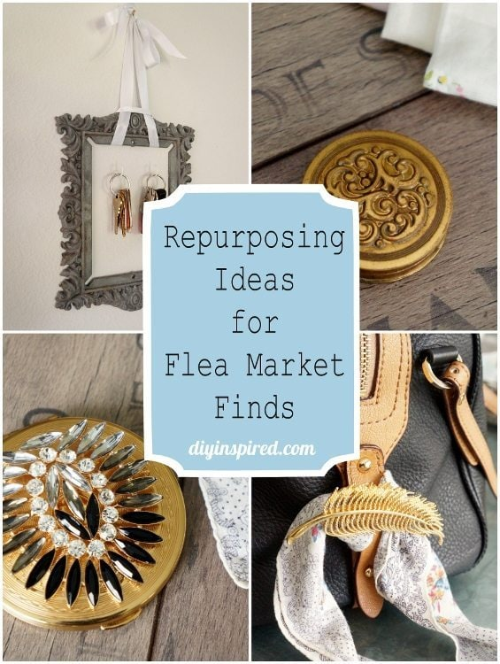 Upcycling ideas for Flea Market Finds DIY Inspired