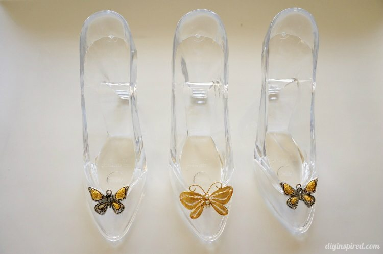 Cinderella Movie Butterfly Glass Slipper