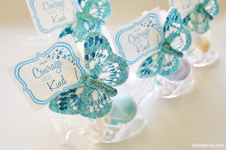 Cinderella Movie Party Favors with Printables